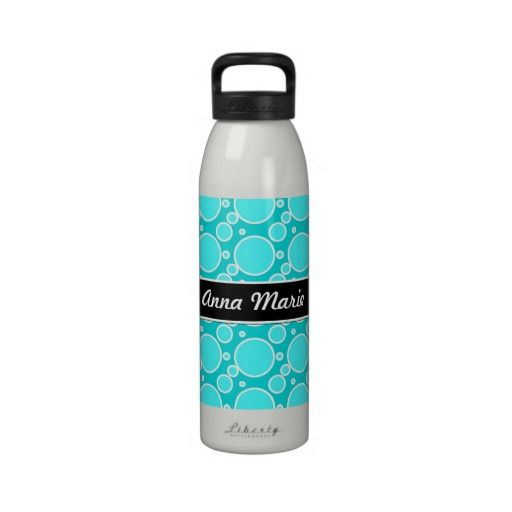 Blue Dots Personalized Water Bottle you will get best price offer lowest prices or diccount couponeShoppingReview on the This website by click the button below...