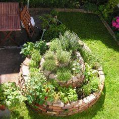 Você já ouviu falar em espiral de ervas? Saiba mais aqui.