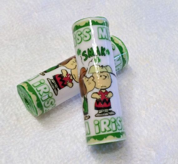 Charlie Brown St. Patrick's Day Irish Paper by MargabeadaGirl