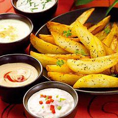 Découvrez la recettes des Potatoes épicées à l'Actifry