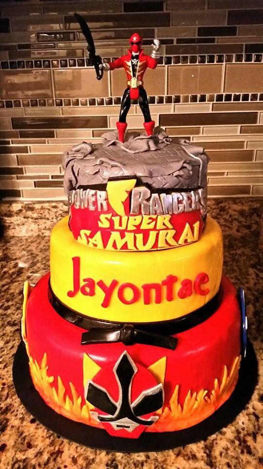 Power Rangers Cake Asda
