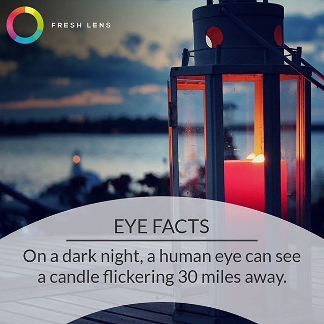 Who needs night vision goggles when you have great #eyesight naturally!  #vision…