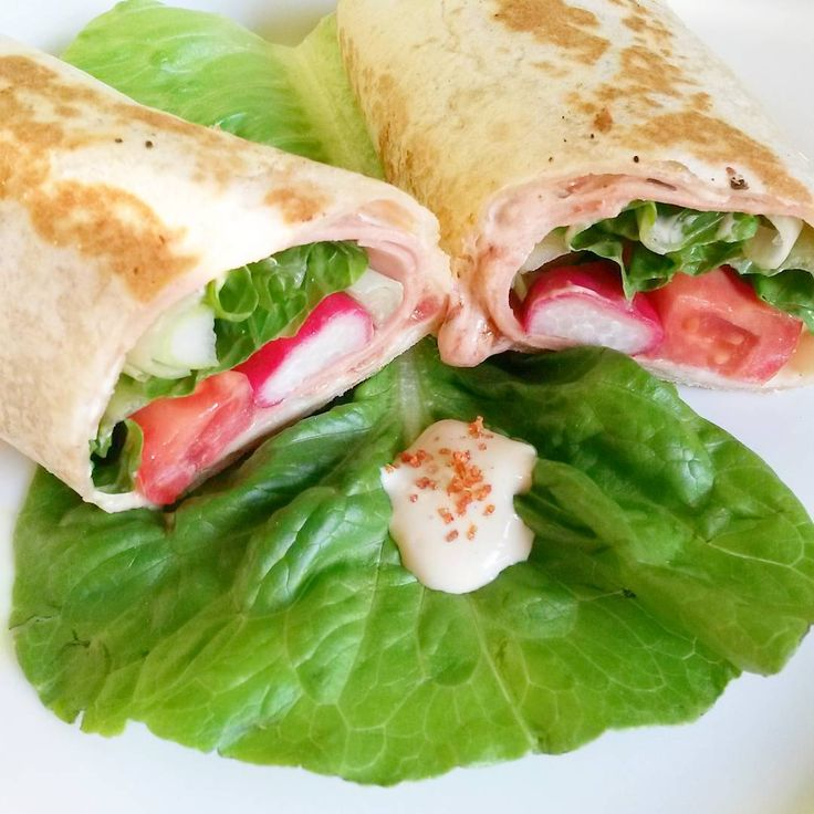 I love rolled up food 😊 #fajita base filled with tofu-cream (#tofu #almondmilk…