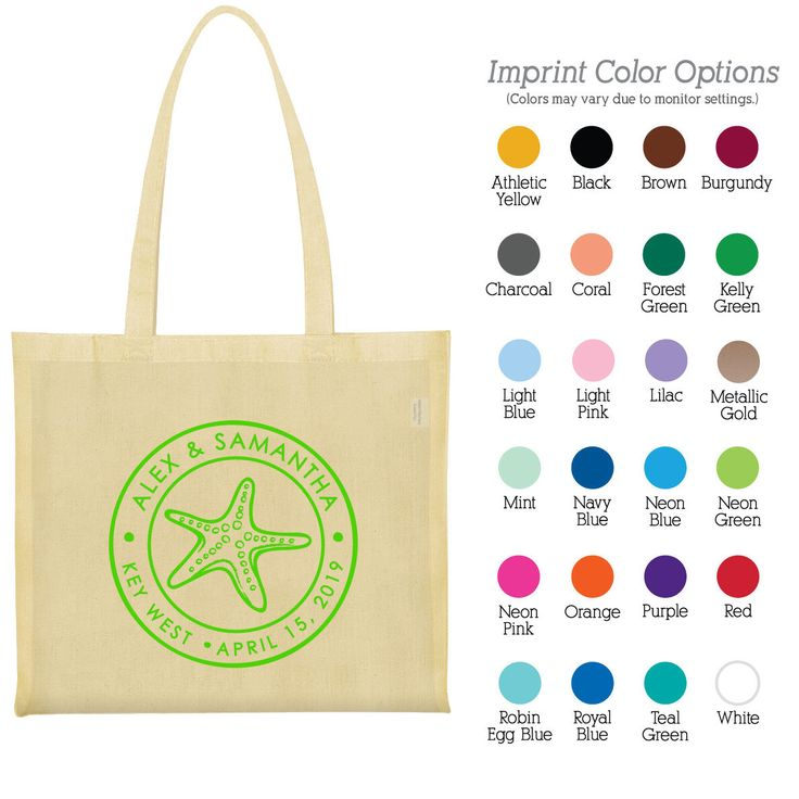 Canvas Tote Bags (Clipart 1663) Starfish - Cheap Tote Bags - Wedding Favors - Personalized Bags - Custom Tote Bags - Cotton Bags by MyWeddingStore on Etsy https://www.etsy.com/listing/214165105/canvas-tote-bags-clipart-1663-starfish