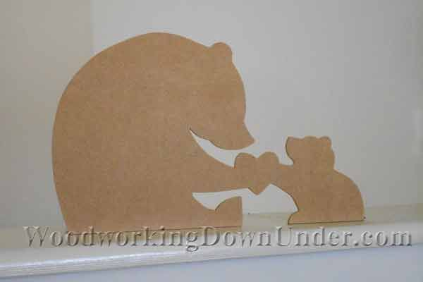 Scroll saw pattern free to download from WoodworkingDownUnder.com