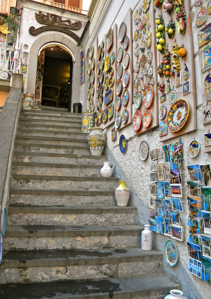 Shop in Amalfi, Italy