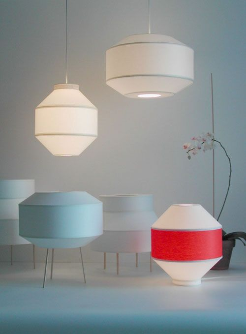 Kikomo Lamps by Renaud Thiry