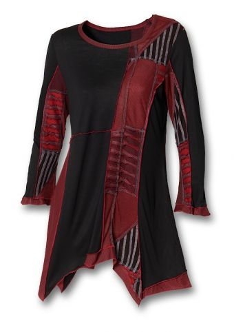 Red Terra Tunic from Southwest Indian Foundation