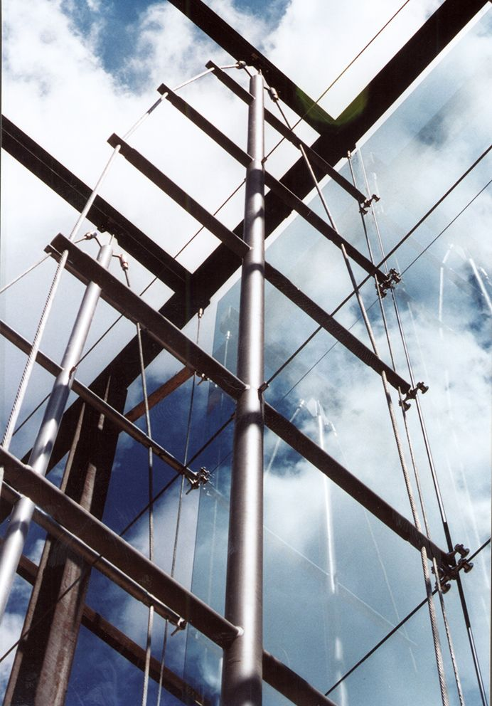 14 Best Images About Cable Truss Glass Facade On Pinterest
