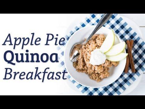 Apple Pie Quinoa Breakfast - The Hot Plate breakfast video recipe