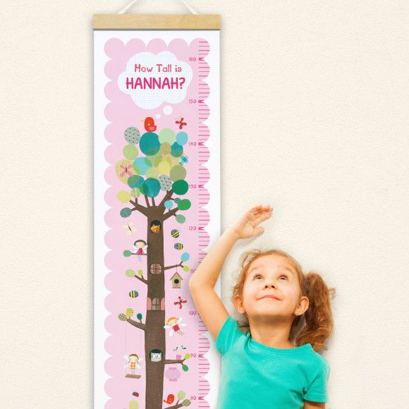 Personalised Fairy Tree Height Chart | hardtofind.