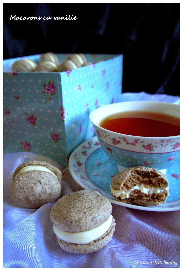 Kitchening: Macarons cu vanilie (rețeta Pierre Hermé)