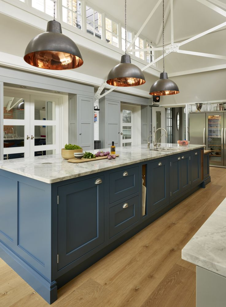 Because Martin Moore kitchens are entirely built to order in their Yorkshire workshops, there are no prescribed designs or sizes to limit either the client's brief or the designer. This allows a completely bespoke response which respects and enhances the architecture of the room whilst putting every inch of space to its most effective use.  martinmoore.com