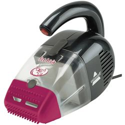 Inexpensive life-saver. This is my go-to for cleaning pet fur off my throw rugs and also my furniture. Not sure how I'd live without it! Pet Hair Eraser® Corded Hand Vacuum