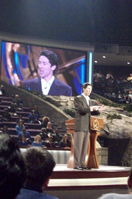 Joel Osteen at Lakewood Church