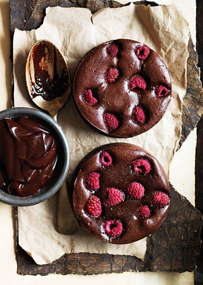 raspberry chocolate tarte
