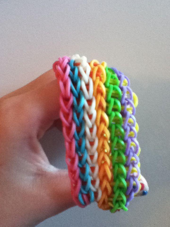 136 Best Rubber Band Bracelets Images On Pinterest