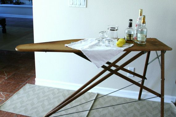 Repurposed Vintage Wooden Ironing Board | just b.CAUSE