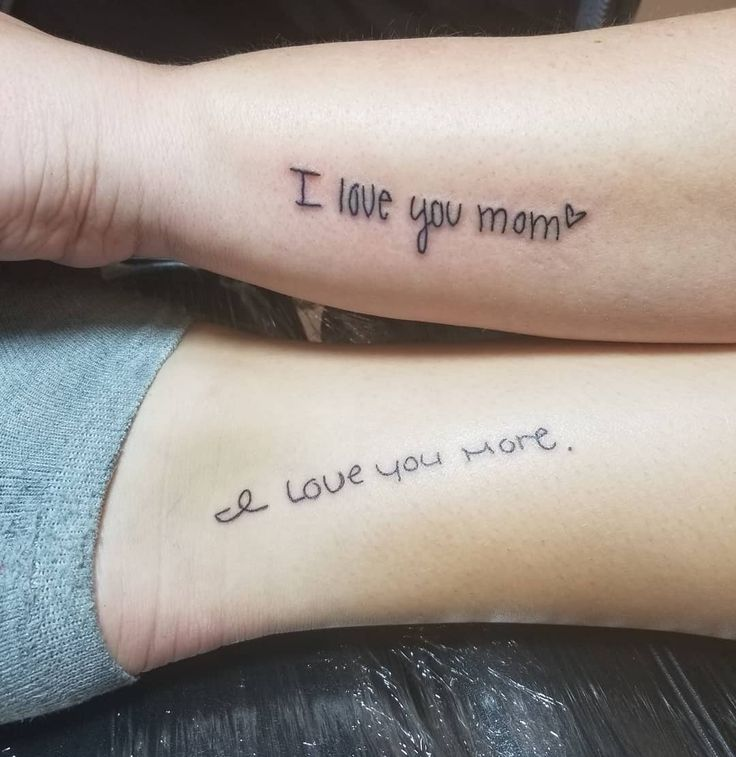 100 Mother-Daughter Tattoo Ideas to Show Mom How Much You Care | Tattoos for daughters, Mother son tattoos, Tattoo for son