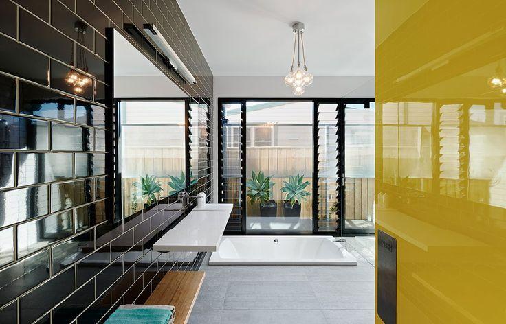 Habitus Living Laneway House Zen Architects bathroom