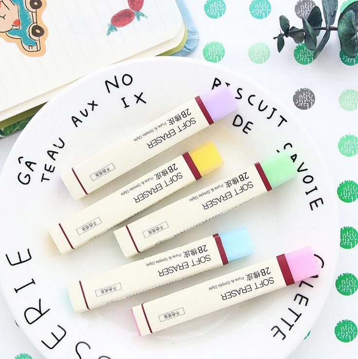 Colorful Soft Rubber Eraser - https://empyrean.store