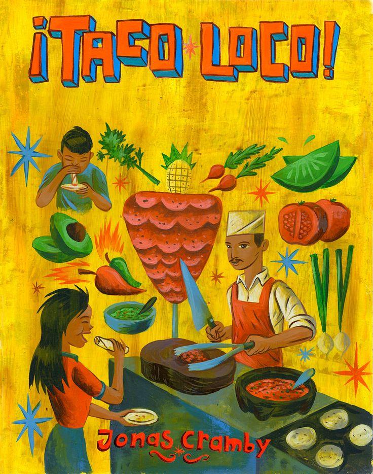 Charles Glaubitz -- taco art