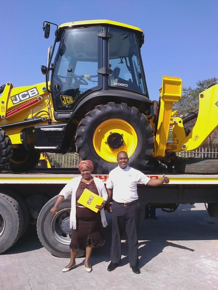 Congratulations go out to Mrs Cibane on the delivery of her New 2014 JCB 3CX Centrmount 4WD TLB  We wish you well on your construction business. Thank you for trusting us to deliver your future to you.  This could be you. Give us a call on 031 201 1422 and we will be at your service.