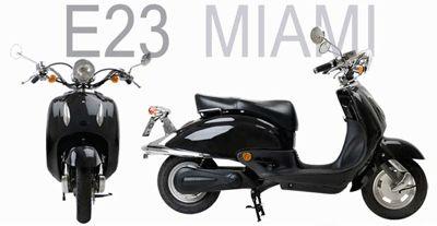Zerobike E23 Miami | Elektrische scooters België - EcoScooters - E-scooters