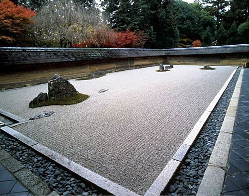 Ryōan-ji- The Temple of the Dragon at Peace) is a Zen temple located in northwest Kyoto, Japan.