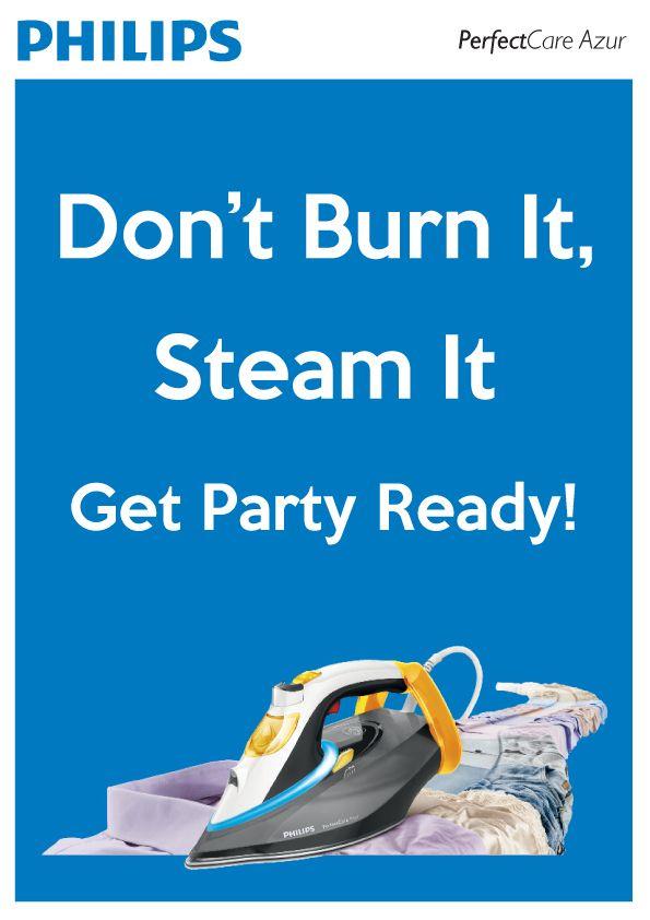#PhilipsPerfectCare Azur Steam Iron