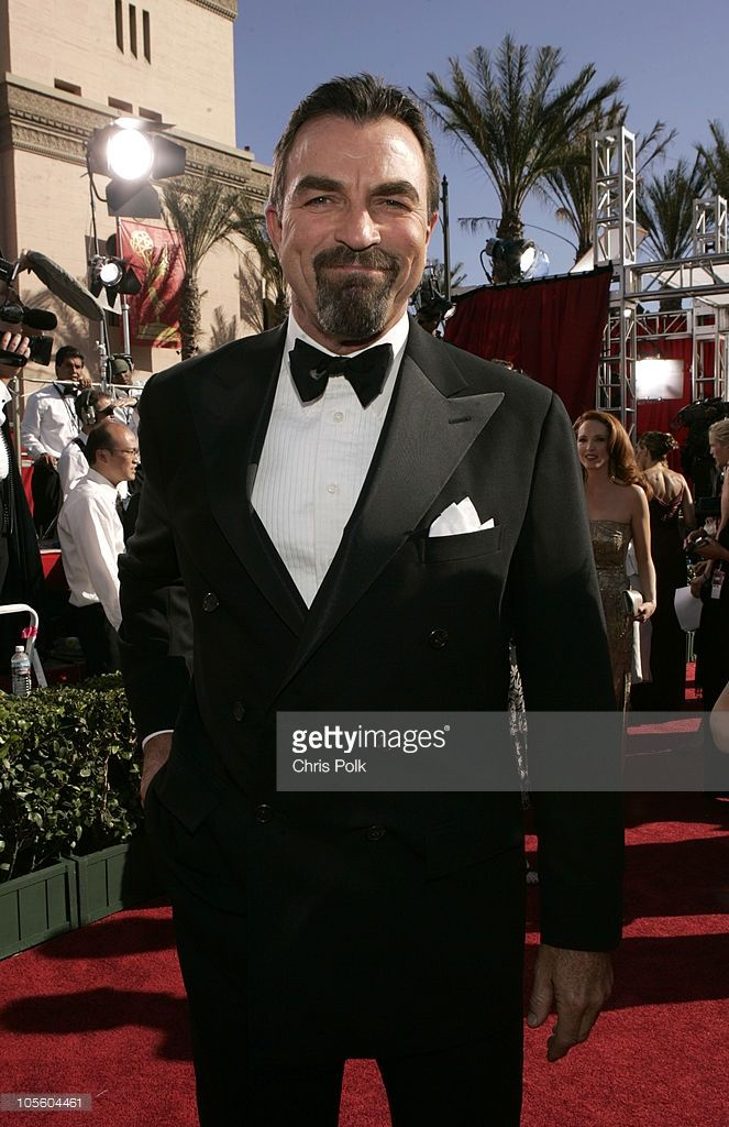 Tom Selleck during The 56th Annual Primetime Emmy Awards - Arrivals at The Shrine Auditorium in Los Angeles, California, United States.