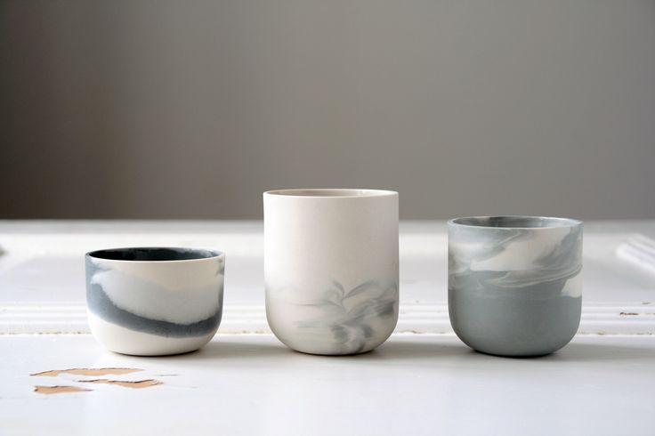 Marmoreal mugs by STUDIO smoo Photo: Salla-Mari Kinnunen