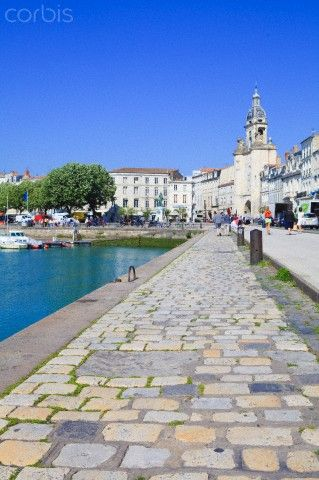 Vieux Port of La Rochelle, France - where we had our honeymoon