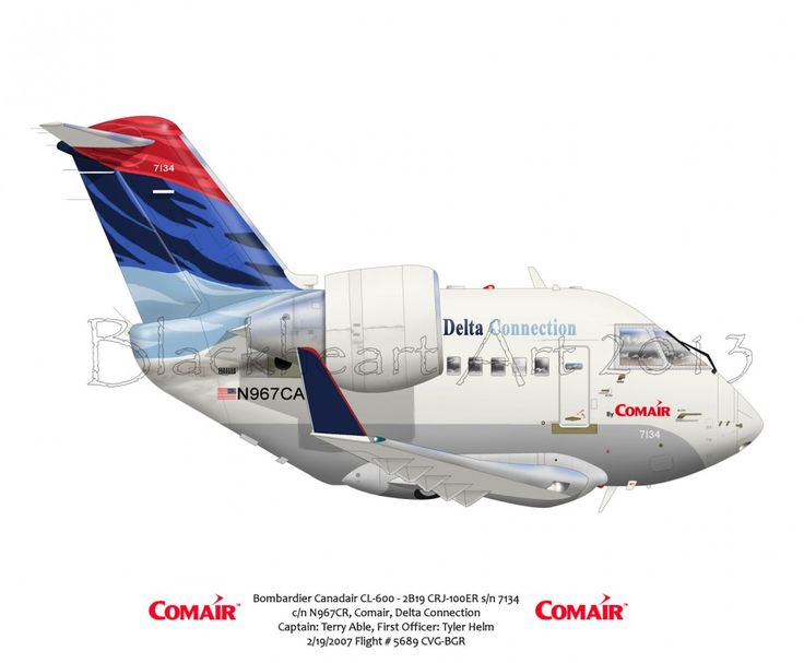 Bombardier Canadair CL-600 Delta Connection