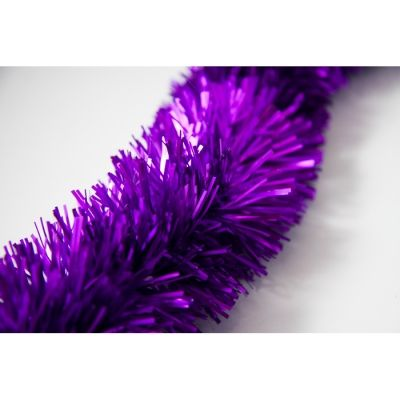 FINE CUT TINSEL PURPLE