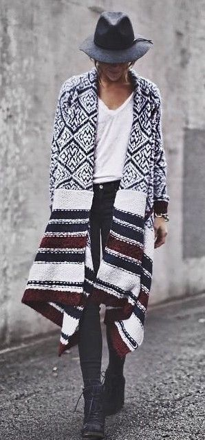 Zig Jacquard Cardigan #anthrofave
