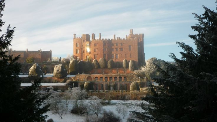 Visit the National Trust's medieval Powis Castle and Garden, Powys, Wales