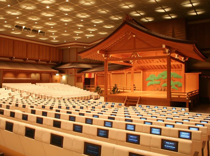 National Noh Theater Seat Subtitle Display System Installation and Upgrade