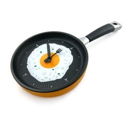 Frying Pan Clock - Tava Duvar Saati Şimdi Sadece 30.93TL. Üstelik Kredi Kartına Taksit/Kapıda Nakit Ödeme ve Havale-EFT Ödeme Seçenekleri İle Atın Sepete