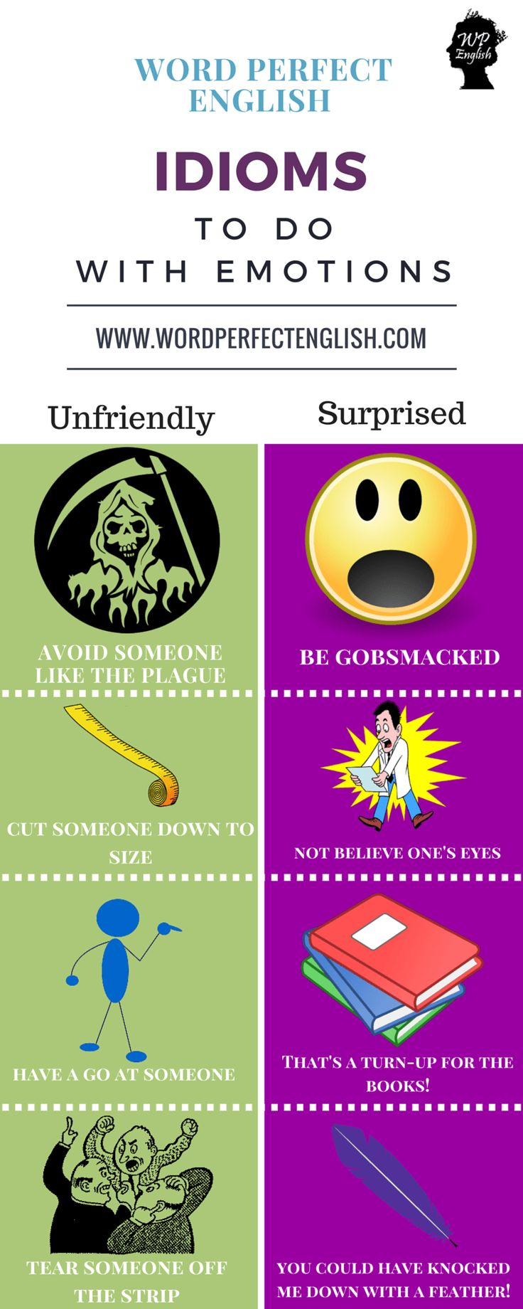 Emotion Idioms - repinned by @PediaStaff – Please Visit ht.ly/63sNt for all our pediatric therapy pins