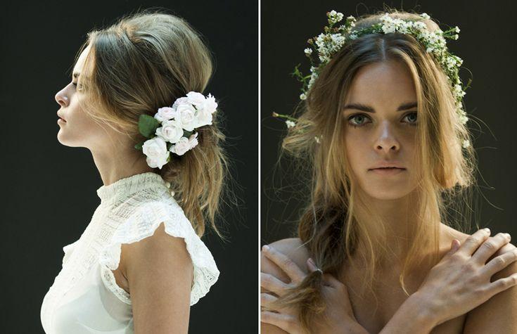 flower hair styles