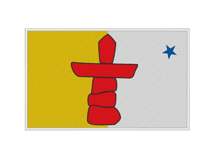 nunavut flag and coat of arms
