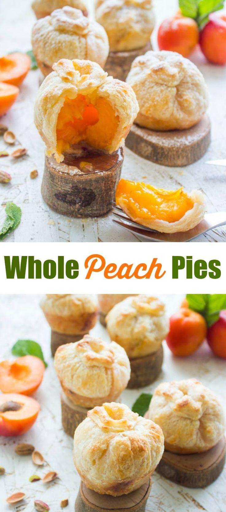 Ganze Pfirsich-Aprikosen-Torten   Servieren Sie Ihren Gästen in diesem Sommer eine individuelle …   – Two Purple Figs Blog Recipes