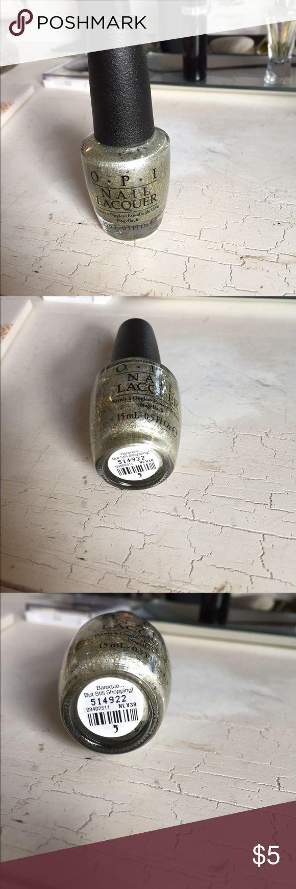 OPI Nail Lacquer OPI Nail Polish💅🏻Baroque...But Still Shopping! New not used OPI Makeup