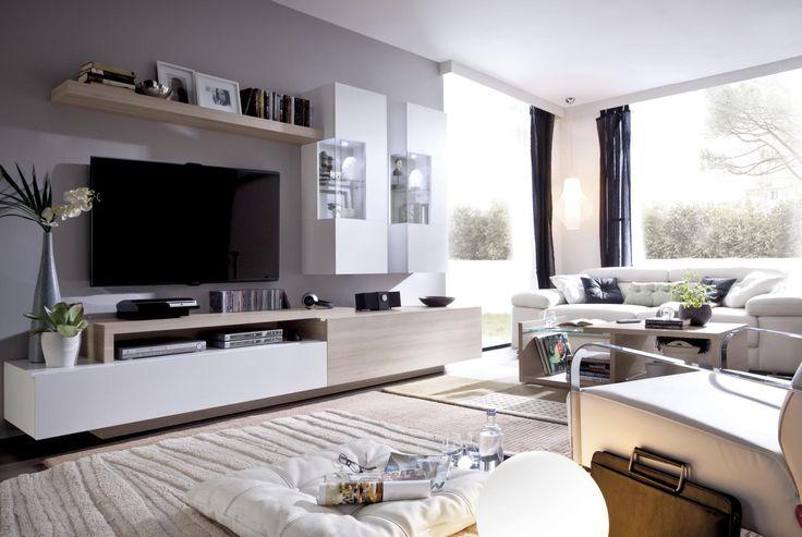 comedor moderno vitrina colgada con luz salon pinterest comedores modernos vitrinas y comedores