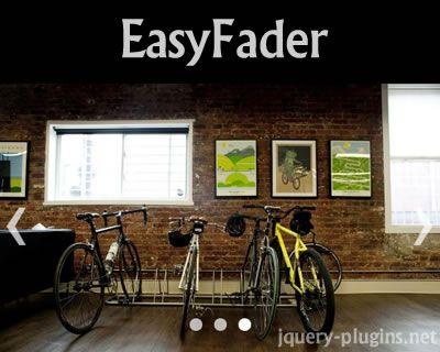 EasyFader – Lightweight Fading Slideshow Plugin #slider #slideshow #fade #effect #responsive #lightweight #jQuery