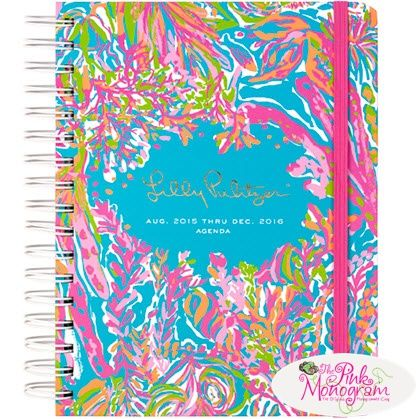 Lilly Pulitzer Scuba to Cuba Large Agenda Lilly Pulitzer 2016 Scuba to Cuba Large Agenda- New pattern for 2016