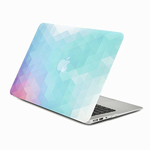 "Unik Case Purple Light Blue Gradient Ombre Triangular Galore Graphic Ultra Slim Light Weight Matte Rubberized Hard Case Cover for Macbook Air 13"" 13-Inch Model: A1369 and A1466 UNIK CASE http://www.amazon.com/dp/B015CZVSH6/ref=cm_sw_r_pi_dp_lURdwb0H35V2K"