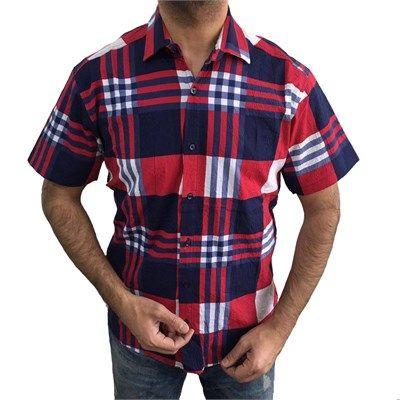 Erkek Çizgili Kısa Kollu Gömlek