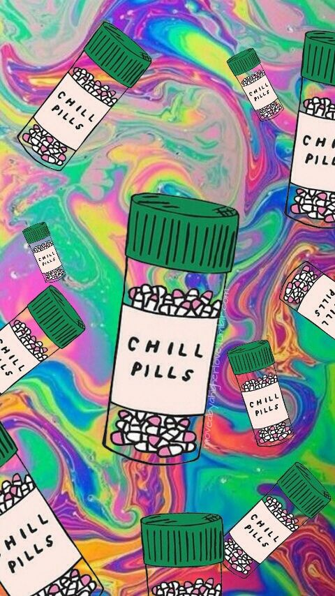 pills, chill, and colors image Trippy iphone wallpaper